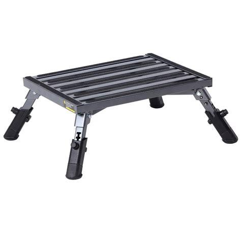 Step Stool With Adjustable Legs by Adjustable Leg Platform Step Stromberg Carlson Pa 250
