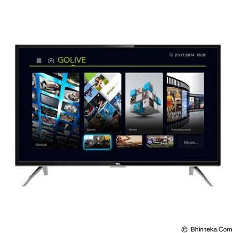 Tv Led 32 Inch Tcl tcl 32 inch smart tv led l32s4900 jual televisi tv