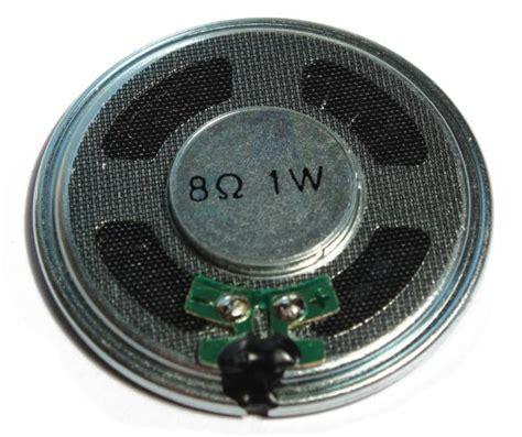 8 ohm resistor speaker 8 95
