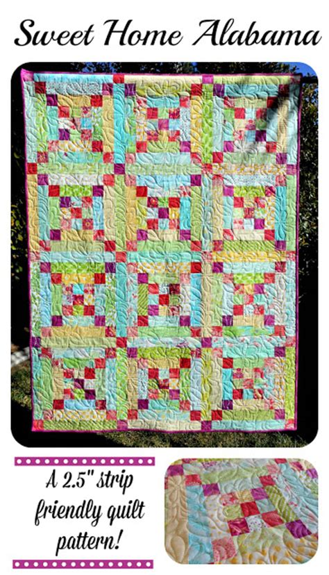 Alabama Quilt Pattern by Zany Quilter Sweet Home Alabama Quilt Pattern