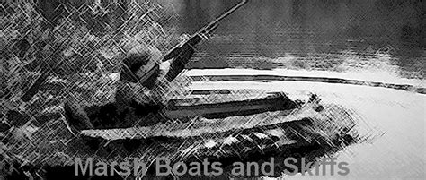layout boat hunting wisconsin marsh boats and skiffs