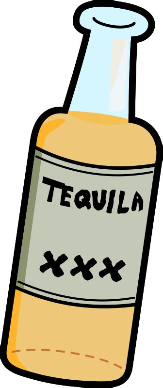 what color is tequila tequila clipart tequila bottle pencil and in color