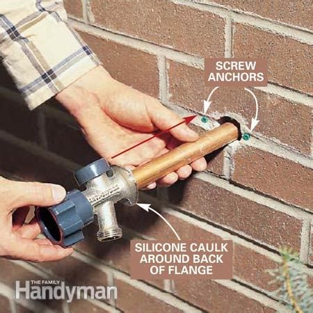 Antifreeze Outdoor Faucet by How To Install A Proof Outdoor Faucet The Family