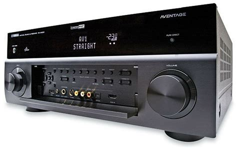 yamaha aventage rx   channel home theater receiver