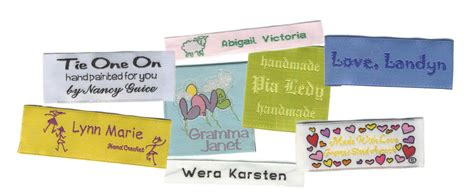 Personalisierte Etiketten by 5 Affordable Options For Custom Sewing Labels