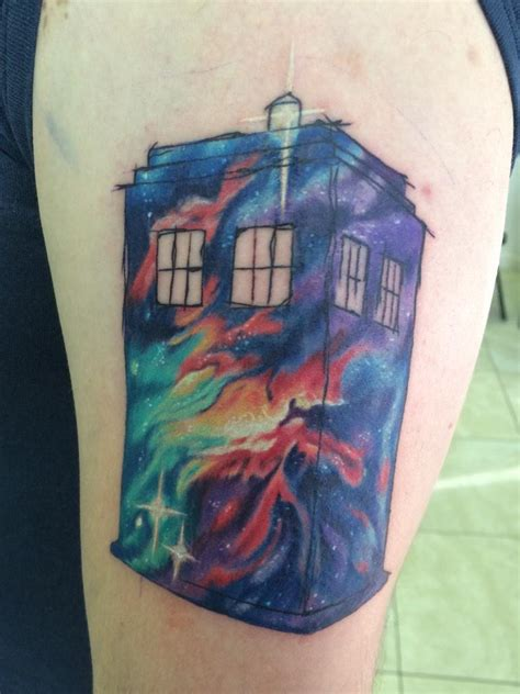 dr who tattoo nerdist