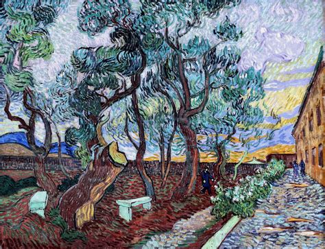 Garden Of St Paul Gandalf S Gallery Vincent Gogh The Garden Of St