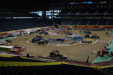 truck jam ford field trucks ford field detroit