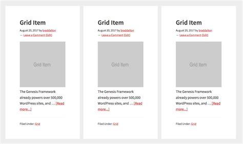 Css Grid Columns In Genesis Css Grid Template