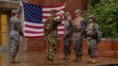 Army Officer Reserve by Army Program For College Students Trains Future Officers