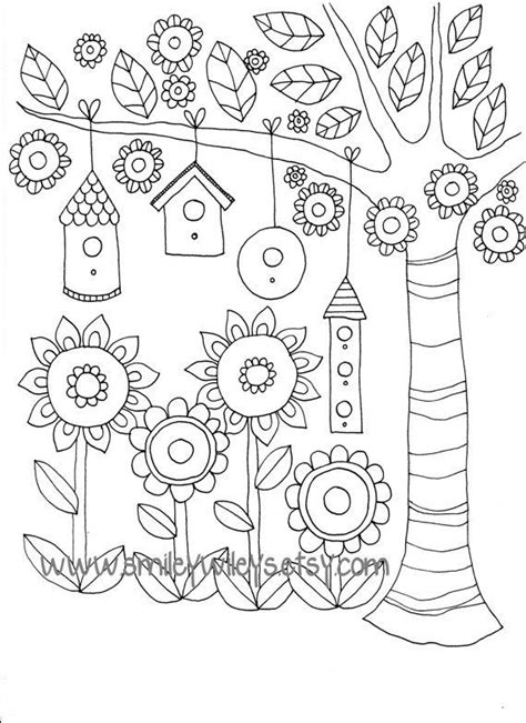 printable coloring pages for adults garden 25 best ideas about printable colouring pages on