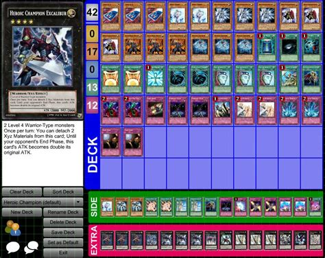 yogioh decks yu gi oh my heroic chion deck by heartlessxiii on