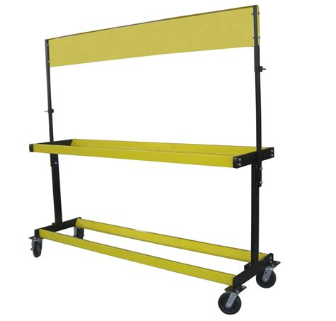 Mobile Tire Rack by Moving 2 Layers Heavy Tire Display Stand Mobile Tire Rack