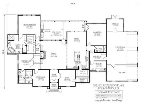 madden home design the fountainbleau house plans