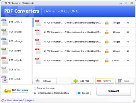 convert pdf to word selected pages tutorial how to convert pdf files using all pdf converter