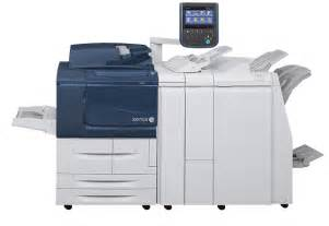 copier and printer machine xerox d95a d110 d125 copier printer for light production