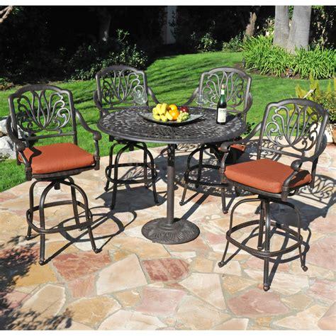 patio dining sets bar height minimalist pixelmari