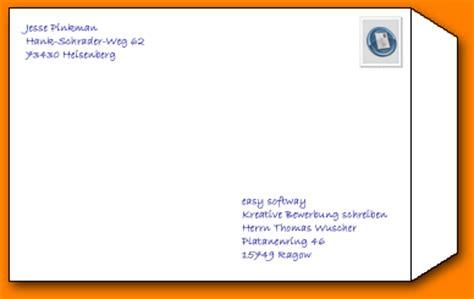 Bewerbung Couvert Anschreiben 7 Bewerbung Umschlag Resignation Format