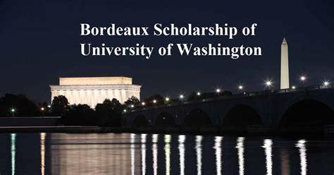 The Bordeaux Mba International College Of Bordeaux by Bordeaux Scholarship Of Of Washington
