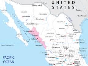 Sinaloa Mexico Map by Mexico Map Sinaloa