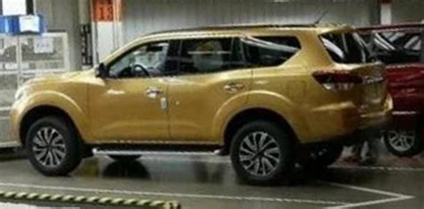 new nissan 2018 suv 2018 nissan navara suv spied and leaked in china photos