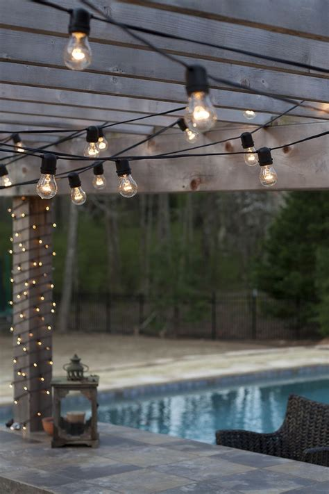 outdoor deck string lighting 126 best outdoor patio and party ideas images on pinterest