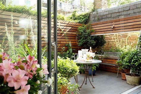 imagenes de jardines y patios pequeños patios y jardines peque 241 os dise 241 o con macetas