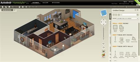 Home Design Software Lifehacker | autodesk homestyler renders your blueprints in 3d