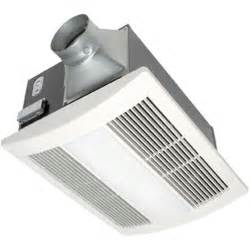 panasonic fan bathroom panasonic whisperwarm 110 cfm ceiling exhaust bath fan