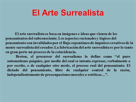 el arte de ensonar 9500415763 el arte surrealista monografias com