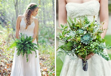 Wedding Bouquet Foliage by 20 Greenery Wedding Bouquets Southbound