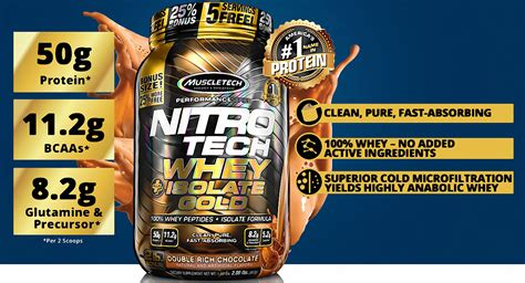 Nitro Tech Whey Isolate brands muscletech nitro tech whey plus isolate gold 1 8 kg