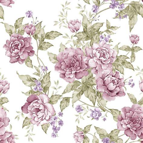 floral  wallpaper dinding motif gambar bunga