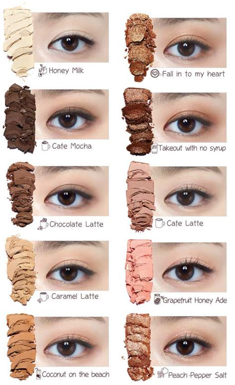 Etude House Play Color In The Cafe Eye Shadow box korea etude house play color in the cafe