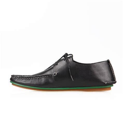 flat soled shoes business causal shoes mens flat sole casual shoes