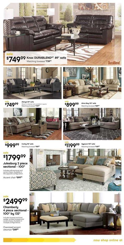 ashley furniture showroom canada furniture home ashley furniture homestore west flyer july 30 to august 23