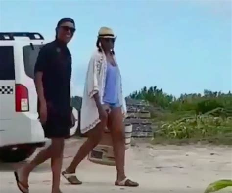 obama on necker island barack and michelle obama look happy at necker island