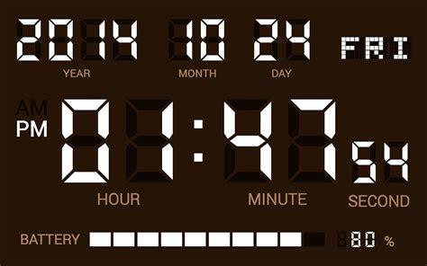 simple digital clock digital clock shg2 free android