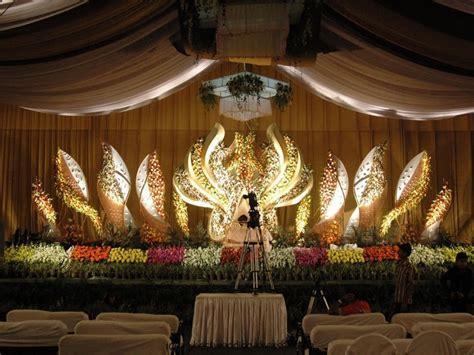 Church anniversary stage decoration, wedding stage