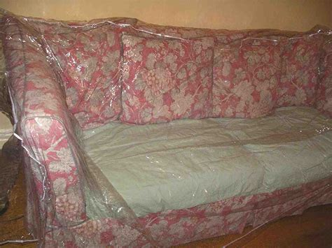 plastic covered couch plastic to cover furniture home furniture design