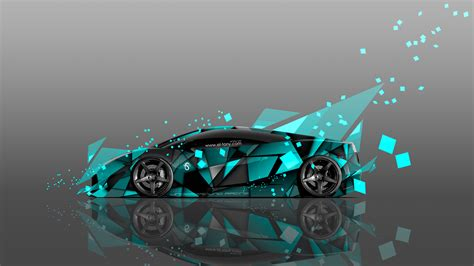 wallpaper abstract car 4k lamborghini gallardo side abstract aerography car 2014