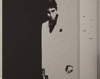 scarface wall mural scarface uber decals wall decal vinyl decor sticker removable mural modern a221
