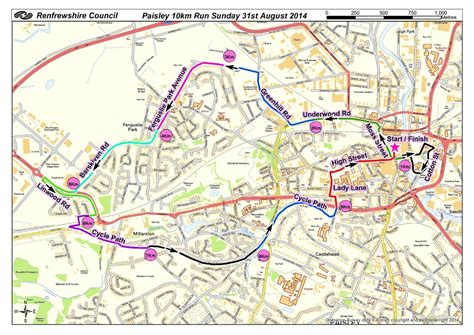 map of paisley our events sport systems