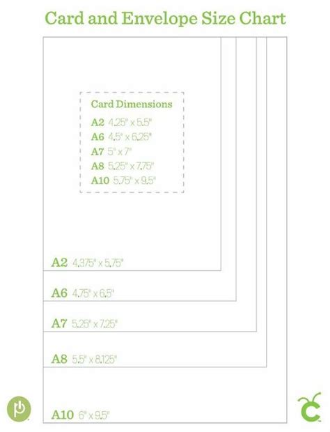 Greeting Card Envelope Size Template by Card And Envelope Size Chart Bjl Cuttlebug