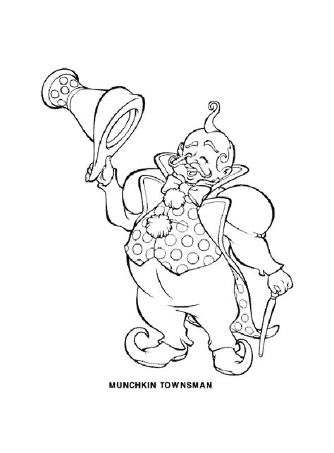 wizard of oz characters coloring pages coloring pages