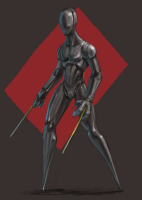 Robot Universe Warrior Biru 3301 06 more raston by mightymoose on deviantart