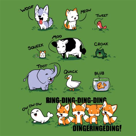 What Does The Fox Say Meme - what did the fox say meme what does the fox say comic