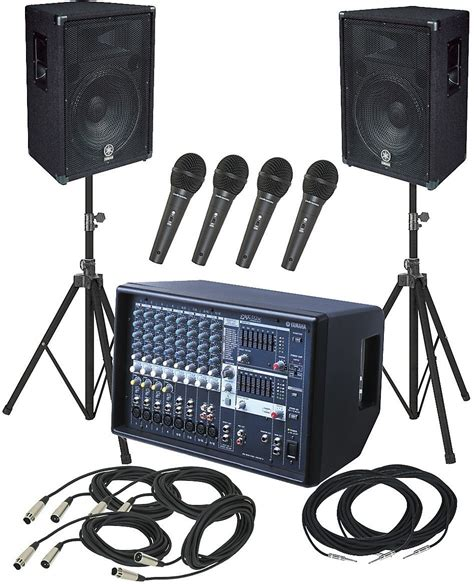 Exceptional Best Sound Mixer For Church #4: Yamaha-PA-System-Package-1.png