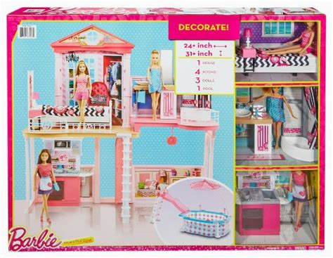 barbie dolls dream house barbie dream house and pool review giveaway fabulessly frugal