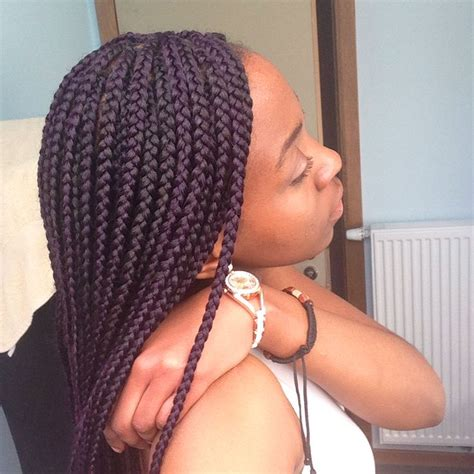 grey and purple combined together style box breads the 25 best purple box braids ideas on pinterest blonde
